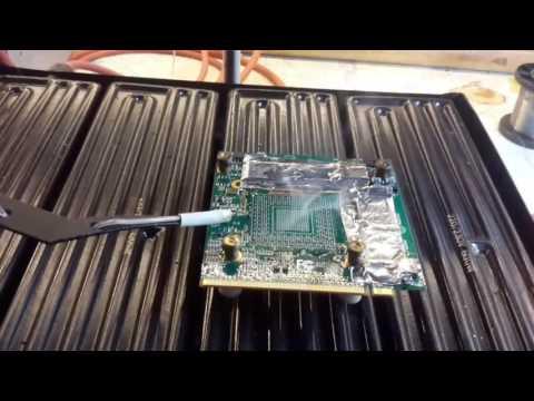Ремонт дискретной видеокарты ноутбука Acer 8930G