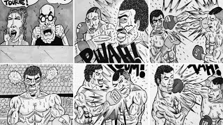 Coach de boxe et dessinateur / cherifasso partie 2/2