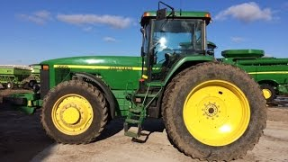 Geneva, Iowa Farm Auction Today - JD 8200 Tractor & S660 Combine Sold