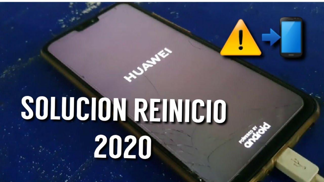 Solución Reinicio inesperado de Huawei o apagado improvisto 2020