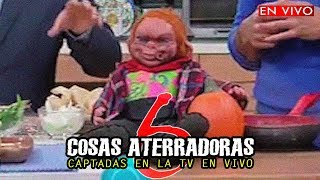6 COSAS ATERRADORAS CAPTADAS EN LA TELEVISIÓN EN VIVO #2