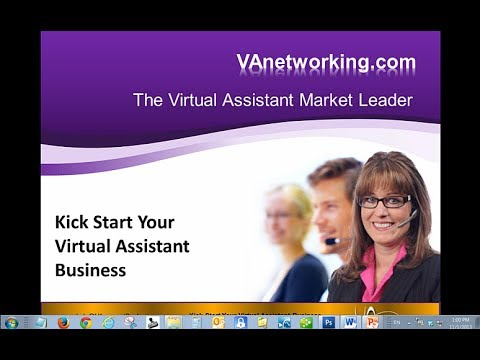 FREE Virtual Assistant Training, Start Up and VA Business Resources at VAnetworking.com