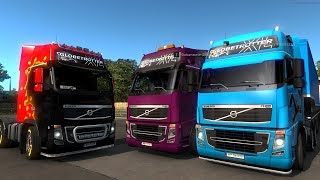 Euro Truck Simulator 2 multiplayer🔴convoy time guys!!!ENG