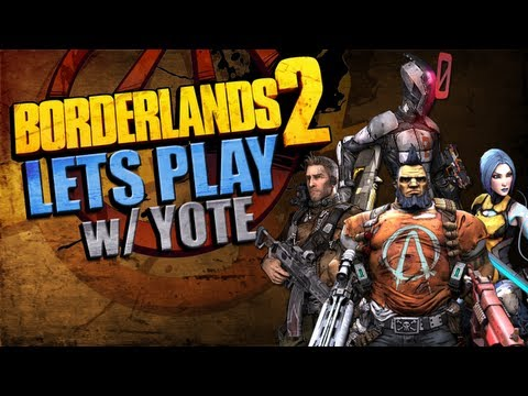 BORDERLANDS 2 LETS PLAY | Ep 1: And so it has begun...