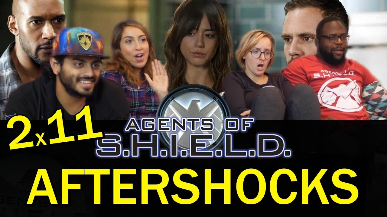 Download Agents of Shield - 2x11 Aftershocks - Group Reaction