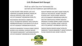Lirik Sholawat Anti Korupsi