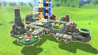 BUILDING A SIMPLE BASE! - TerraTech Gameplay #2 - Survival Building Game
