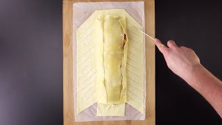Für diese Lasagne braucht es keine Auflaufform.