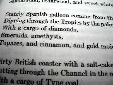 Cargoes by John Masefield