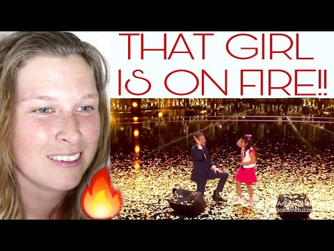 ANGELICA HALE  - THIS GIRL IS ON FIRE | REACTION