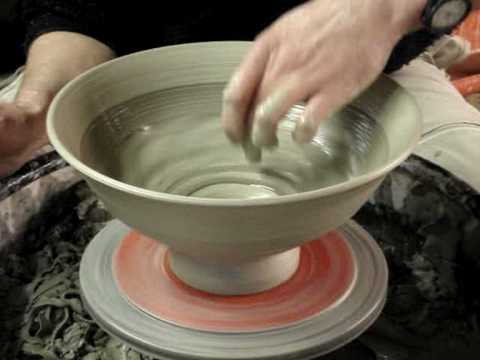 Making a big clay pottery salad bowl demo how to make a youtube - Why you should cook clay pots ...