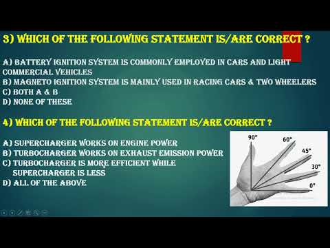15) OBJECTIVE QUESTIONS ON IC ENGINES || MCQ || PART 3 || Er ASHISH