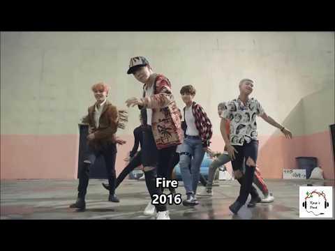 BTS lalala compilation (2013 - 2017)