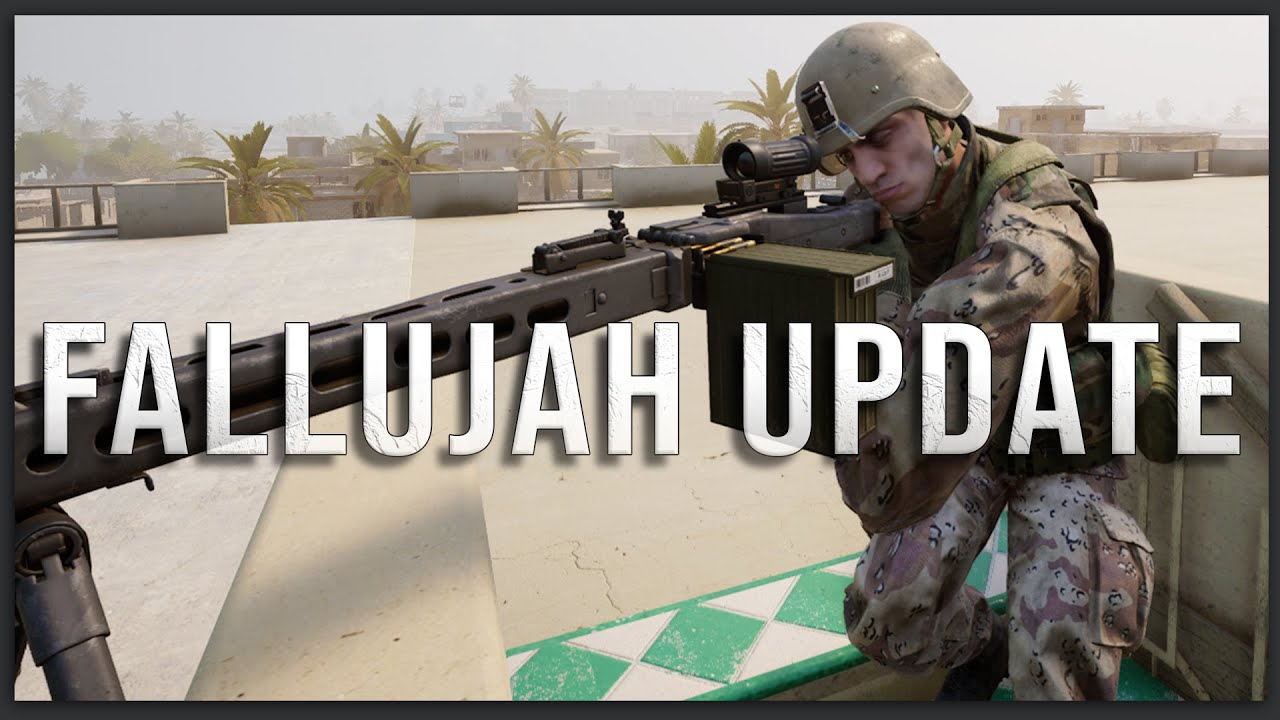 The New Mg3 Is Disgusting Squad Fallujah 100 Players Mea Faction Gameplay Karmakut Youtube