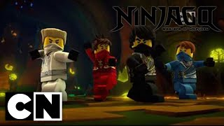 Ninjago: Masters of Spinjitzu - The Curse of the Golden Master (Clip)