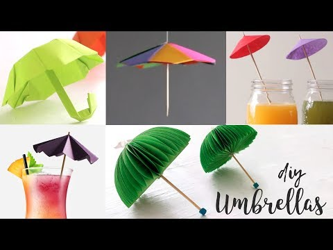 DIY Umbrellas | Craft Ideas | Cool Idea You Should Know