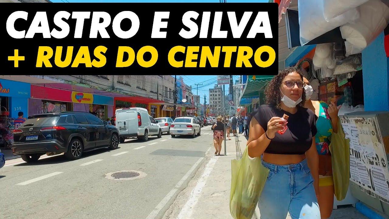CENTRO DE FORTALEZA: RUA CASTRO E SILVA; TRAVESSA CRATO; FLORIANO PEIXOTO E RUA SÃO PAULO