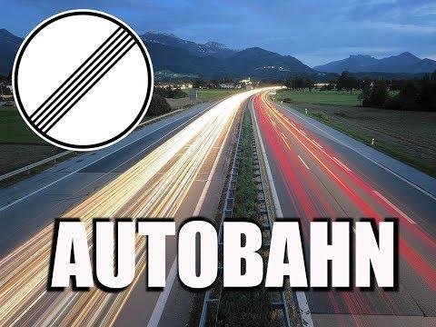 Autobahn Alemana, autopista sin límite de velocidad Reflexiones
