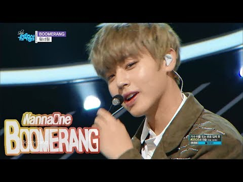 [Comeback Stage] WANNA ONE - BOOMERANG, 워너원 - 부메랑 Show Music core 20180331