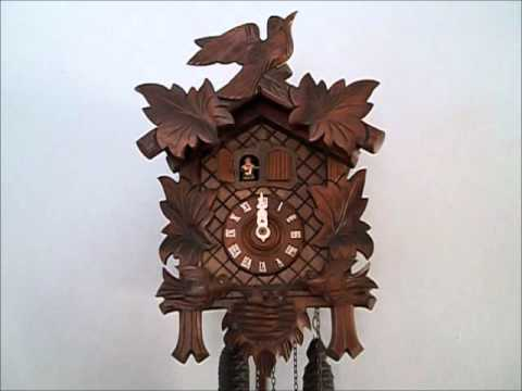 Musical Cuckoo Clock with Moving Birds