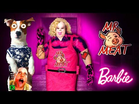 Мясник это Барби👸Ms.Meat mod of Mr. Meat 👸Mr. Meat is Barbie