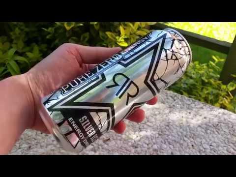 LET´S DRINK: NEW ROCKSTAR PURE ZERO SILVER ICE (DE / 2017)