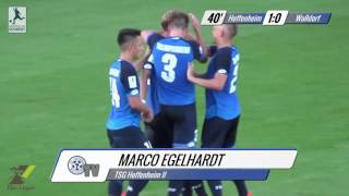 Regionalliga Südwest, 3. Spieltag: TSG 1899 Hoffenheim II - FC-Astoria Walldorf: Die Zusammenfassung