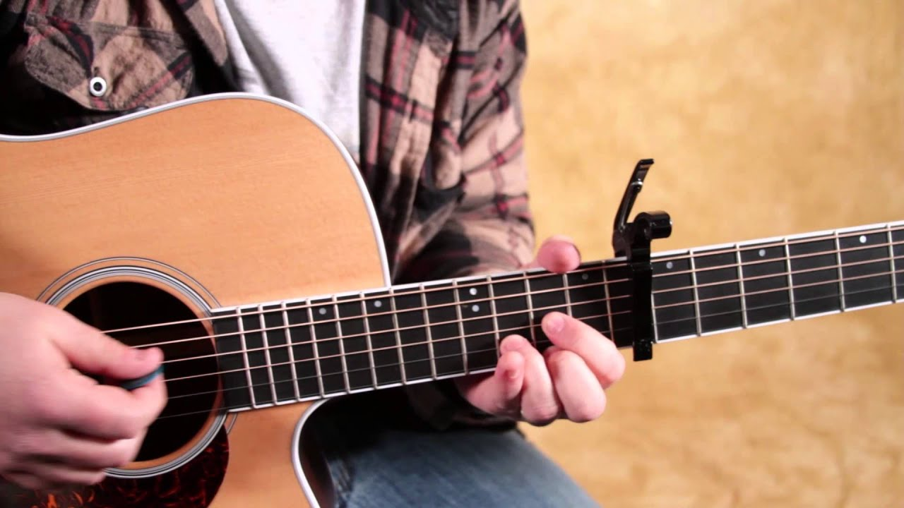 how to play up on the roof on guitar