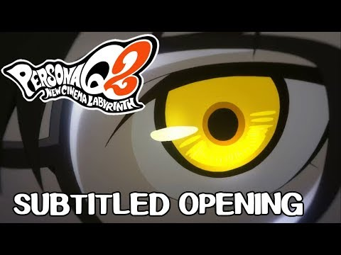 Persona Q2 New Cinema Labyrinth - Subtitled Opening