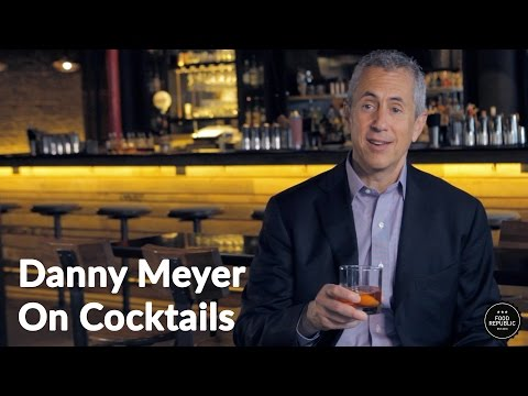 Danny Meyer On The Art Of The Cocktail Bar