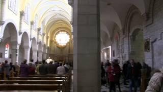 видео Вифлеем - Храм Рождества Христова и церковь Святой Екатерины /Израиль, 2011/