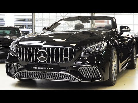2019 Mercedes S65 AMG - V12 S Class Cabriolet Review BRUTAL Sound Exhaust Interior Exterior