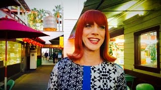Coco Peru goes to the farmers market.