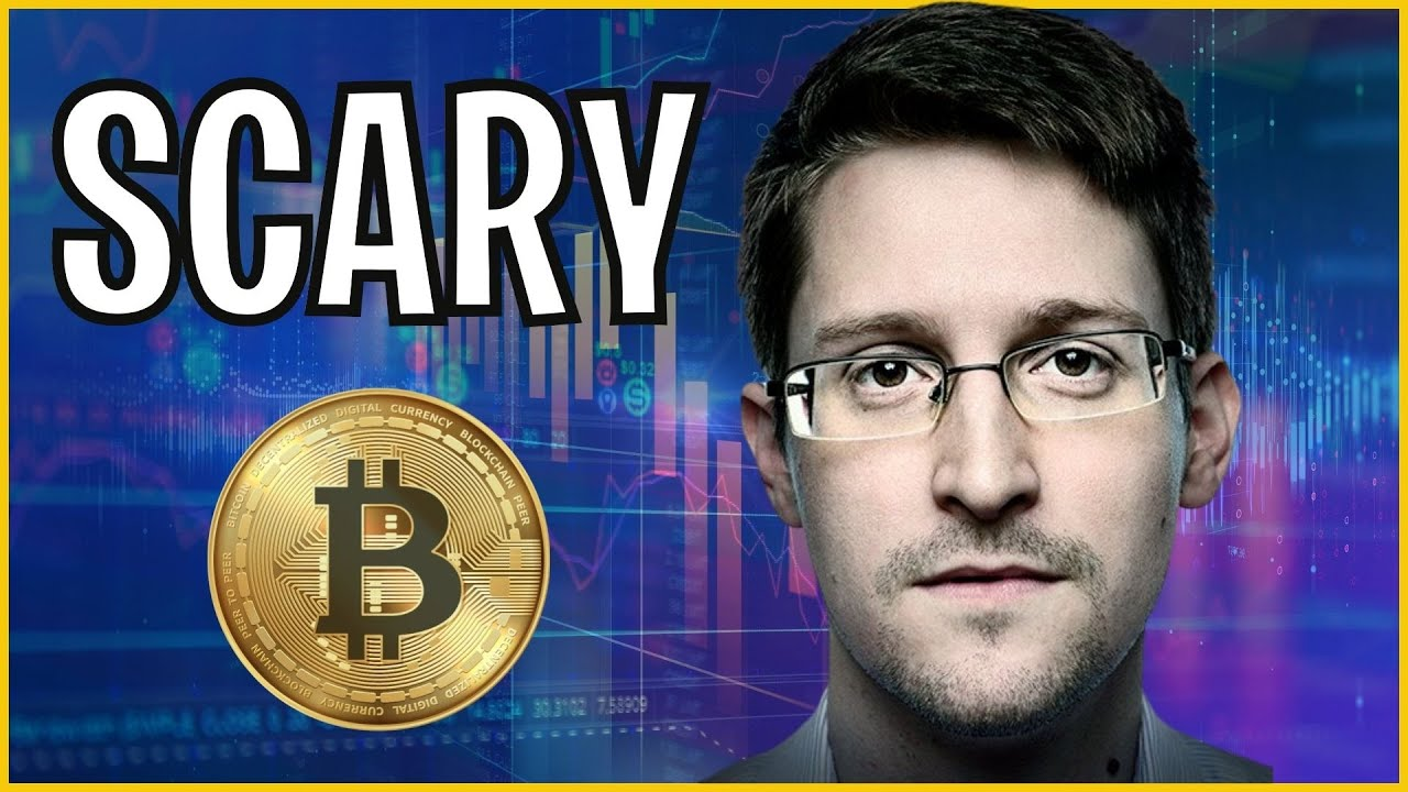 What Edward Snowden Just Said About Bitcoin And Why We Should All Pay  Attention - YouTube