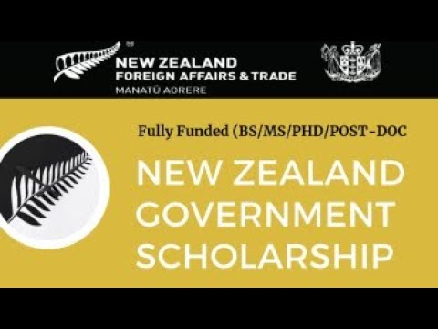New Zealand Government Scholarships 2022 | Fully Funded