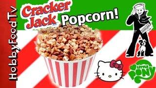 Popcorn Nutty Mix! Recipe HobbyKidsTV