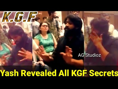 Yash | Exclusive Talk About KGF Making Level With Friends Leaked