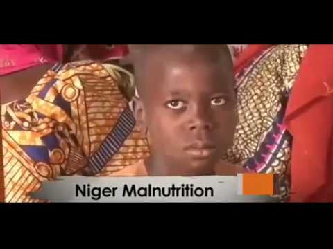 Niger Malunutrition Health Center Worker