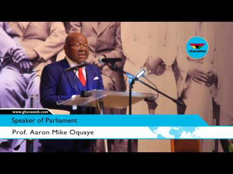 Nkrumah not the founder of Ghana - Prof. Mike Oquaye