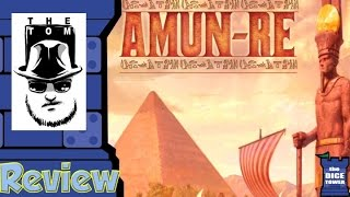YouTube video Amun-Re Review - with Tom Vasel