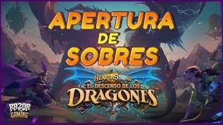 Hearthstone   Apertura 50 SOBRES   El Descenso de los Dragones