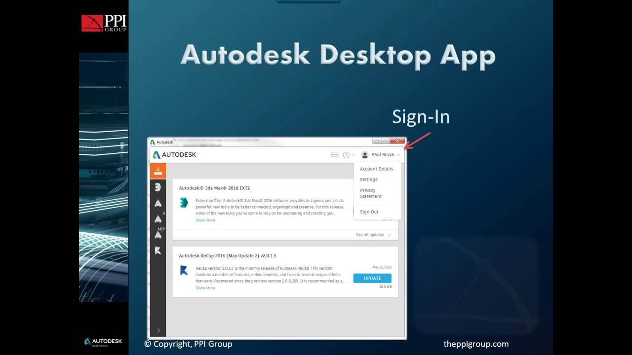 PPI Tech Tips | Autodesk Desktop App Tutorial