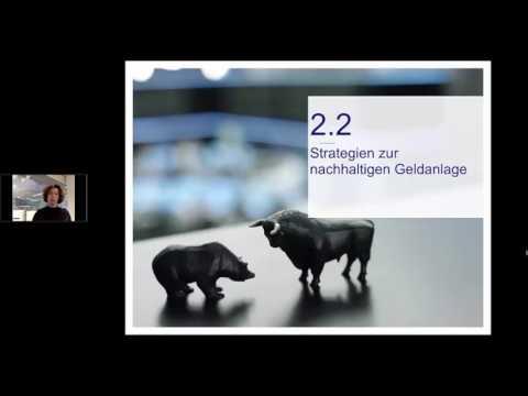 Webinar: Nachhaltige Investments