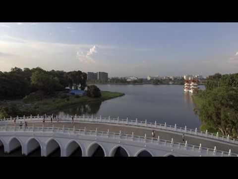 Chinese Garden Drone shot