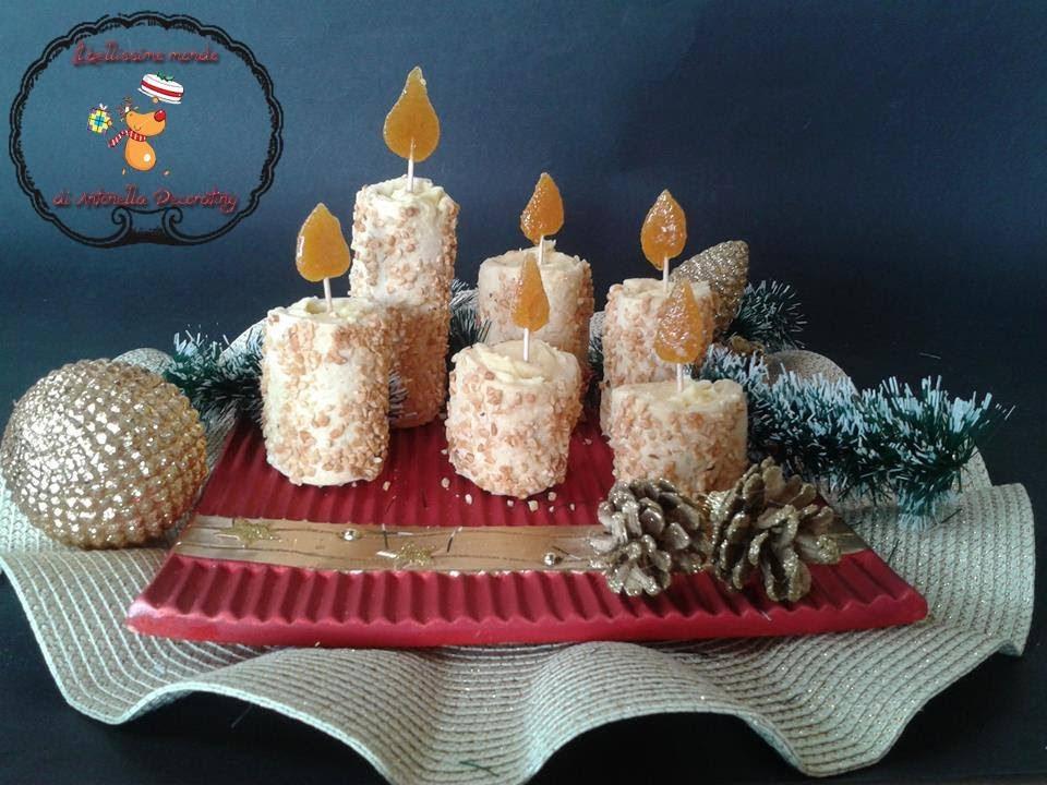Candele di frolla ,idee per Natale Ricetta facile - YouTube