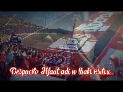 جديد أحرار بونة على إيقاع أغنية Despacito 😍🎵🎺  Usma IDB 2018