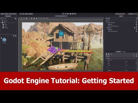 Godot Engine Tutorial - Getting Started