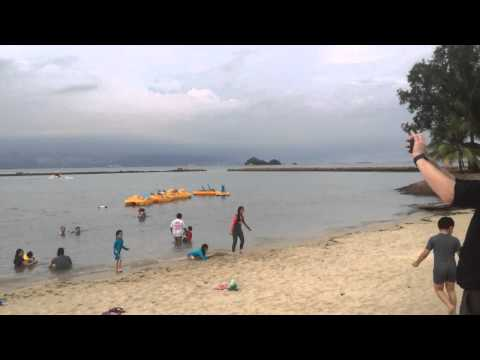 Batam resort beach area