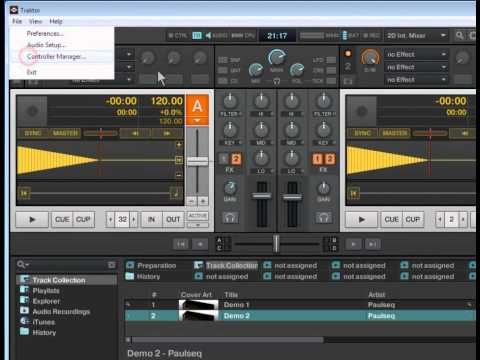 How to Configure dj control mp3 e2 to Traktor (v 1.2) with mapping
