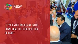 Reconnect safely with the Egyptian Construction industry at The Big 5 Construct Egypt